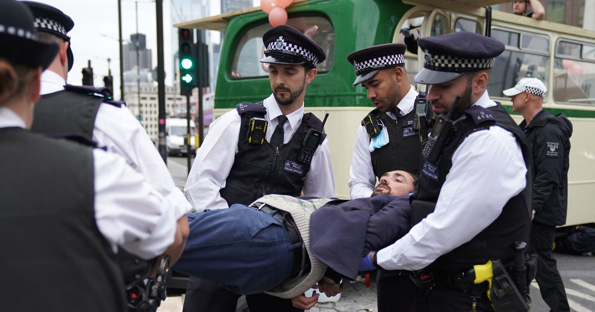 Nearly 500 arrests amid latest wave of Extinction Rebellion protests