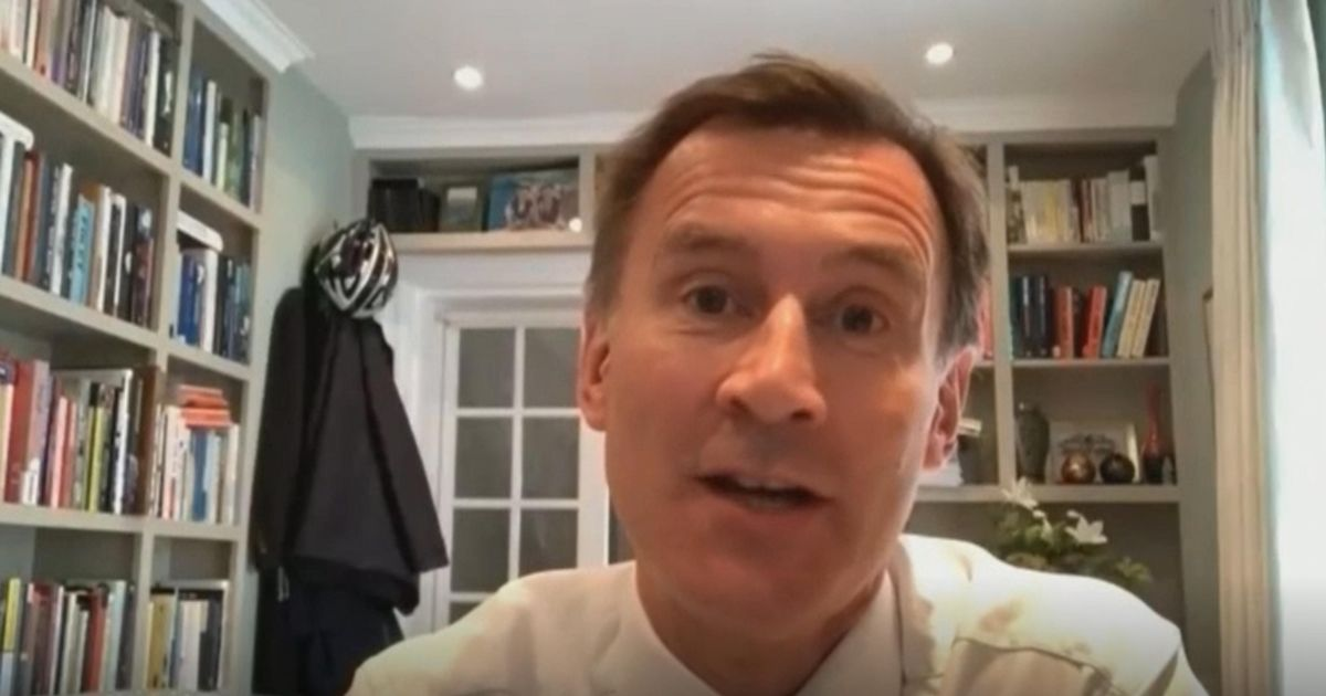 New data shows Covid booster jabs are needed now, says Jeremy Hunt