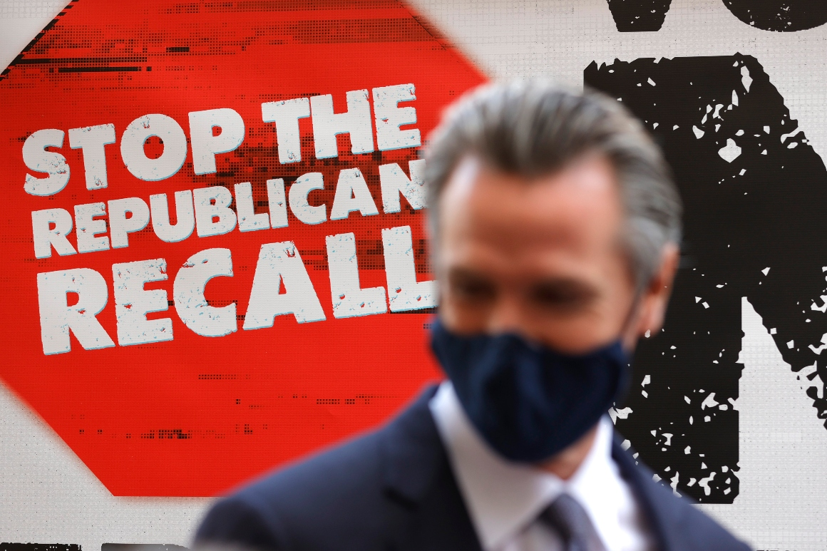 Newsom's closing message: More people will die if I'm recalled