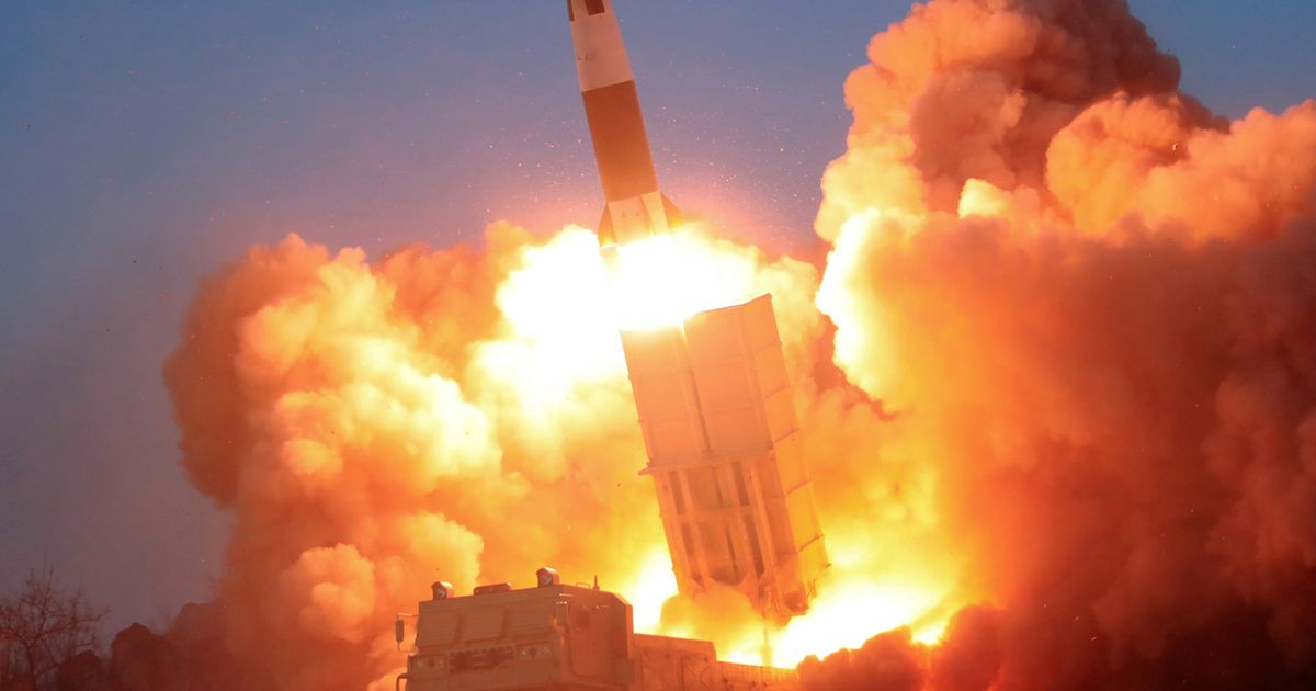 North Korea has continued with its missile development