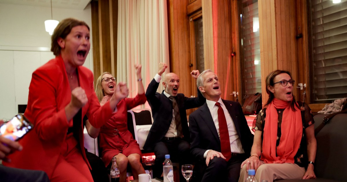 Norway's left-wing opposition wins climate-focused election in landslide, starts coalition talks