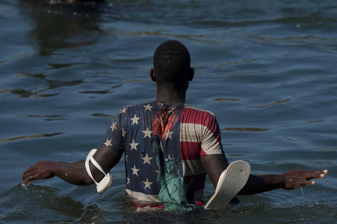 Officials: Many Haitian migrants are being released in U.S.