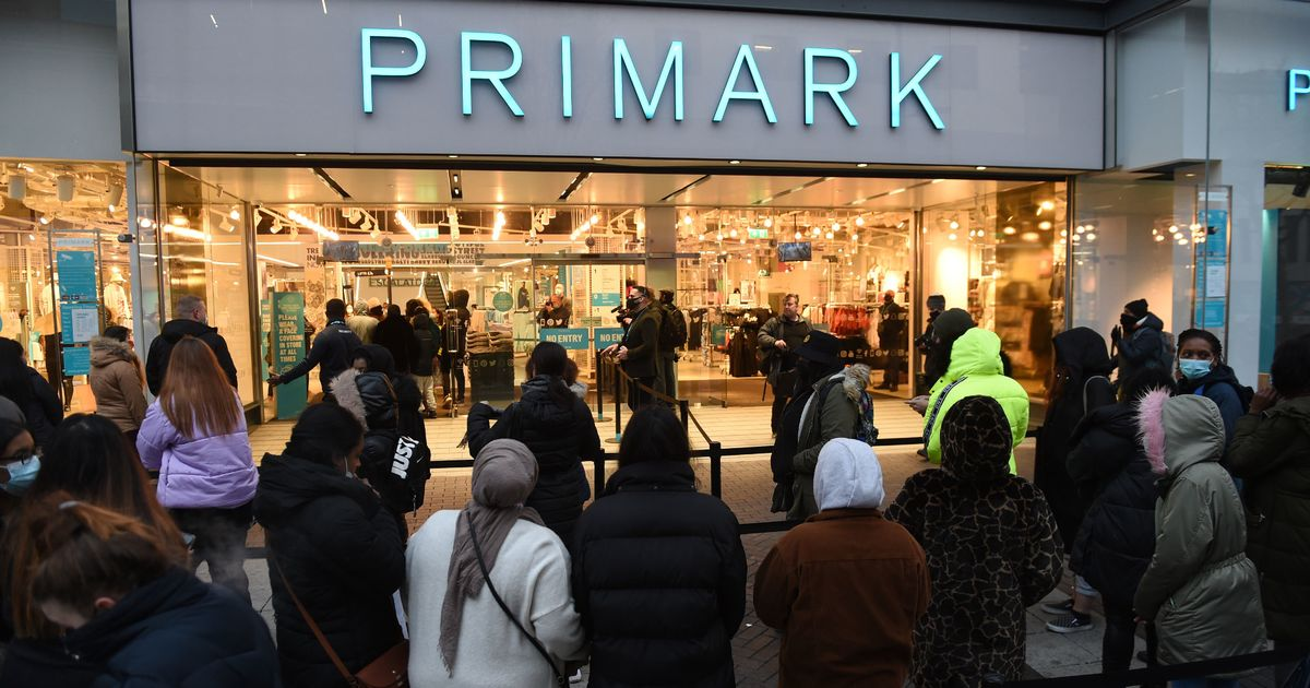 Primark sales 'lower than expected' after pingdemic hits footfall