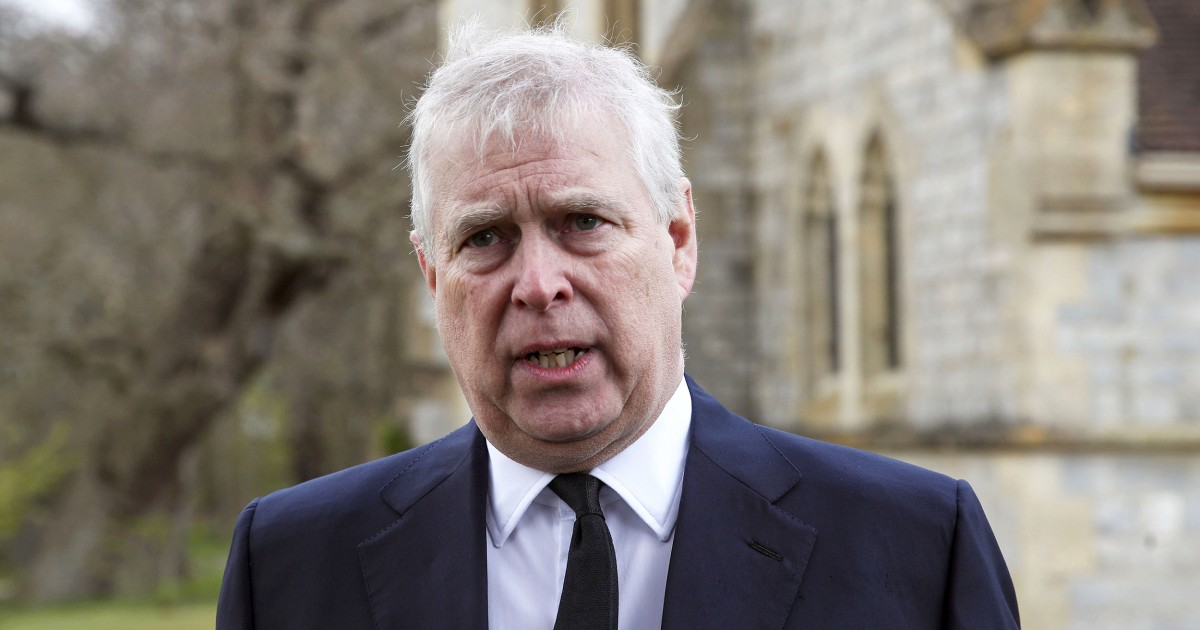 Prince Andrew is served sexual assault lawsuit in United States