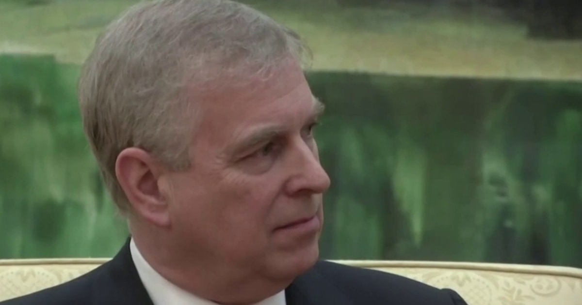 Prince Andrew served with legal papers in civil lawsuit