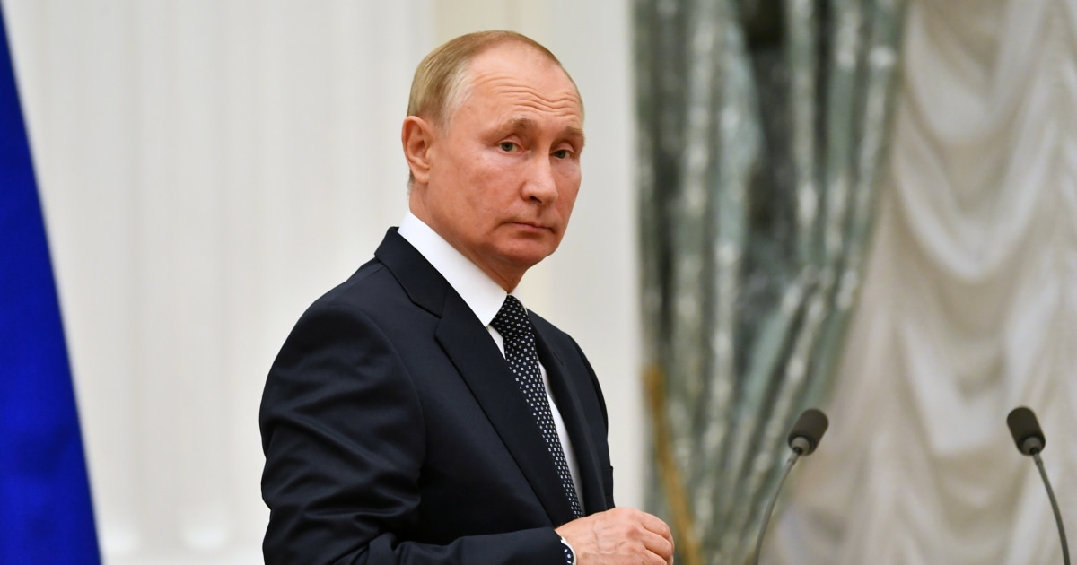 Putin self-isolating due to Covid cases among inner circle