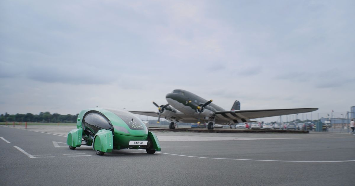 RAF trialling self-driving cars - to free up personnel from mundane jobs