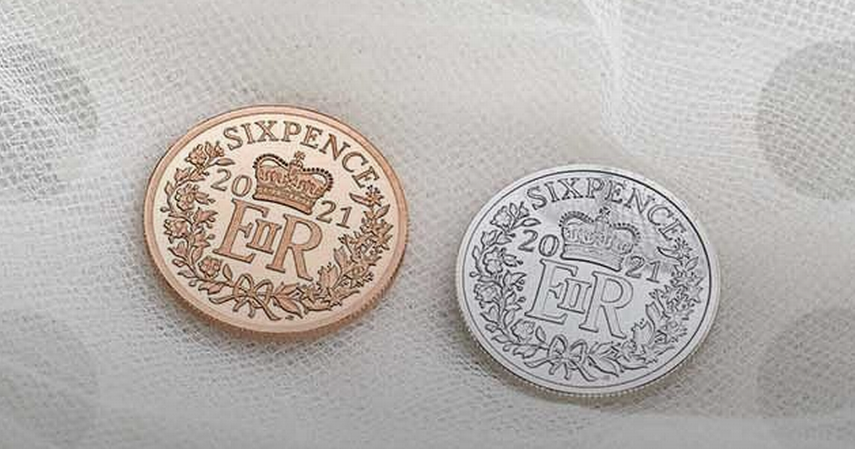Royal Mint giving away coins to couples after Covid wedding delays