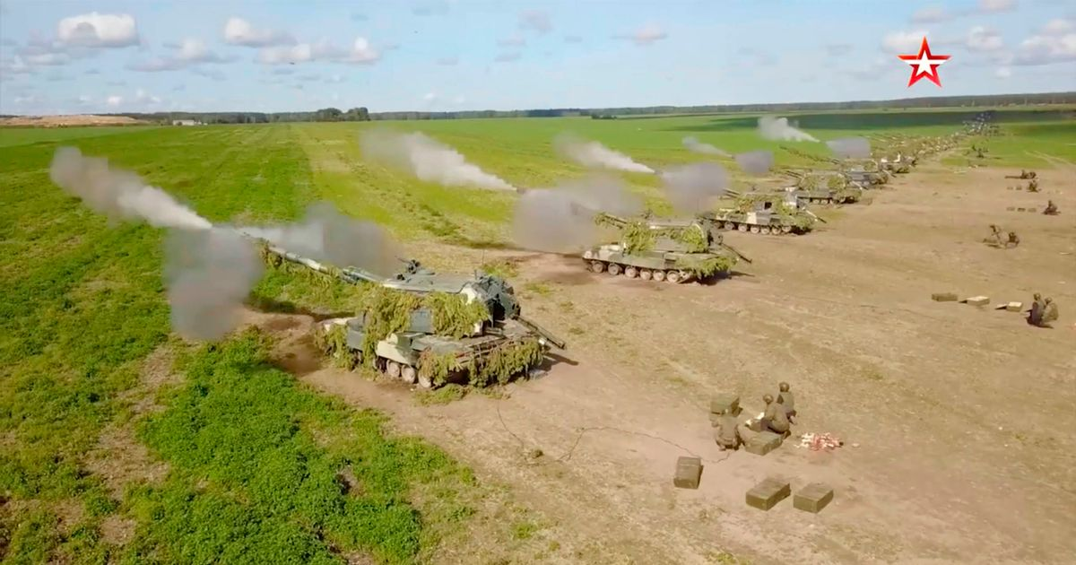 Russia kicks off massive war games with 200,000 troops right on Europe's doorstep