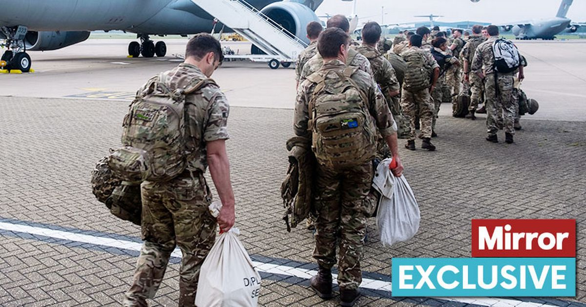 Troops flying to Afghanistan to assist with the exit
