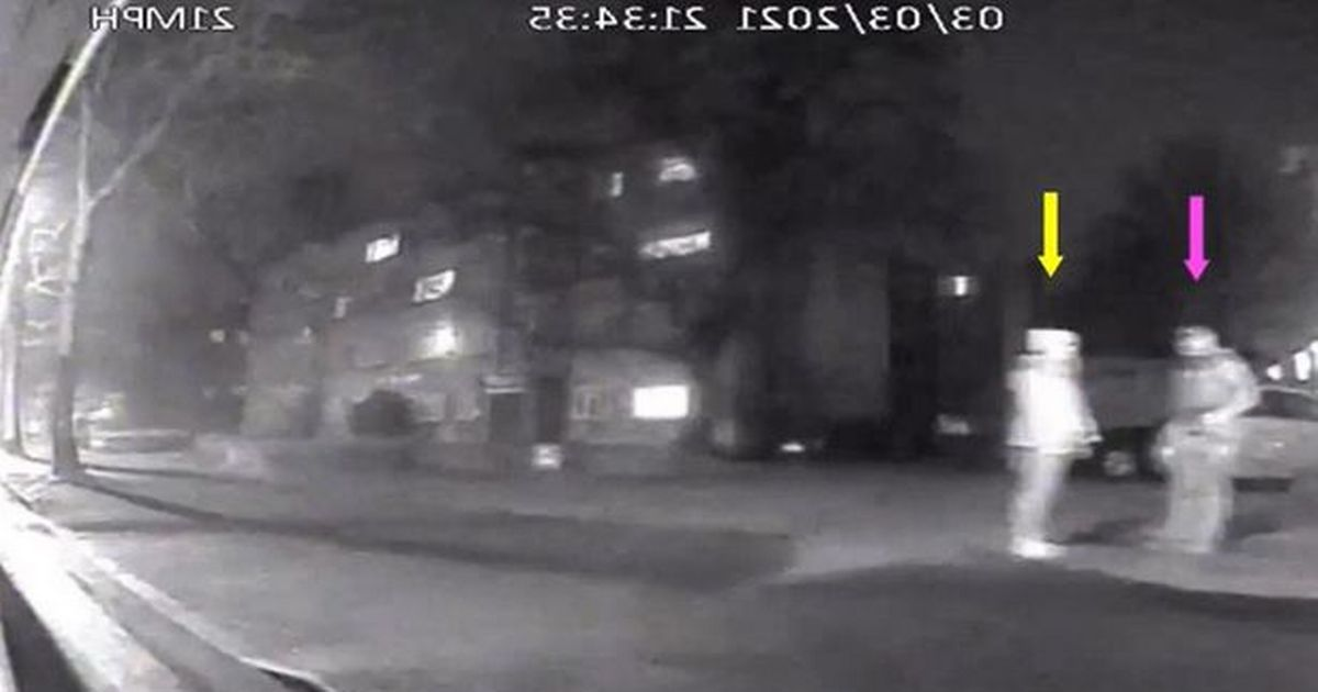Sarah Everard's final moments caught on chilling dashcam footage