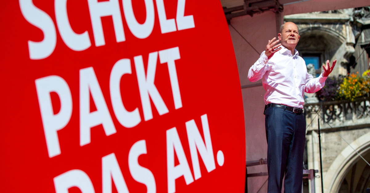 Social Democrats in strong position as German campaign enters final week