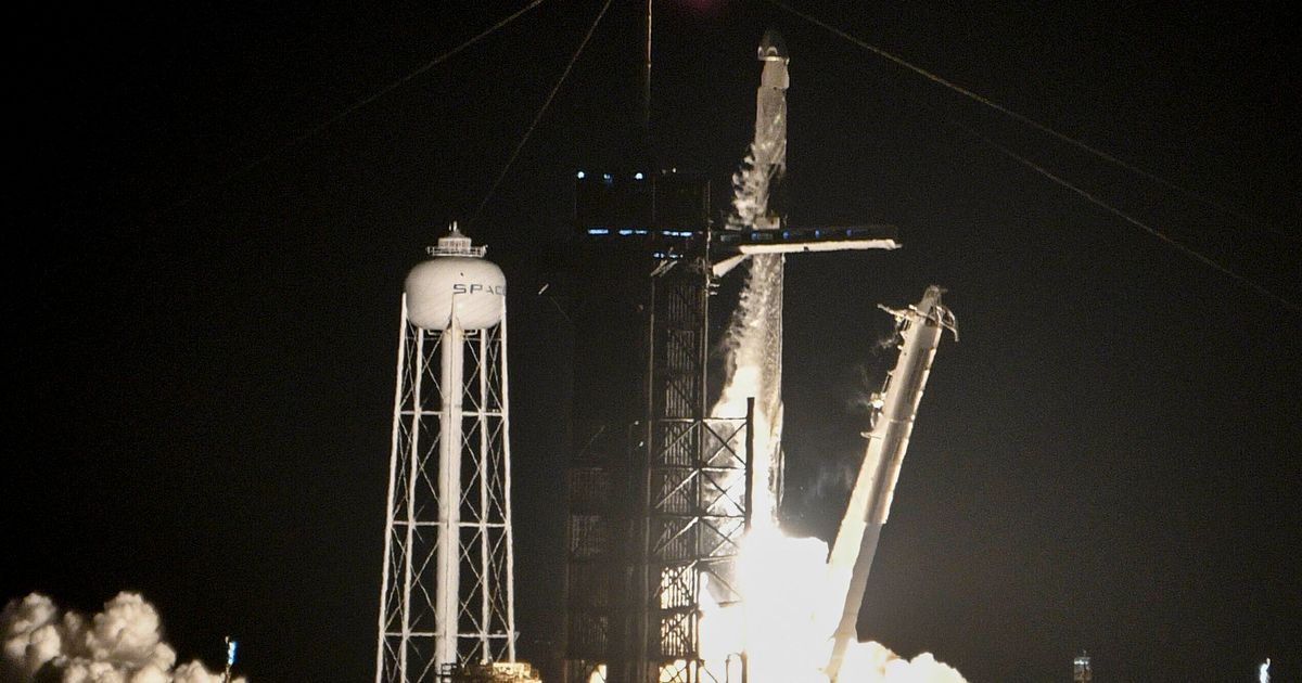 SpaceX launches first completely civilian-crewed rocket into orbit