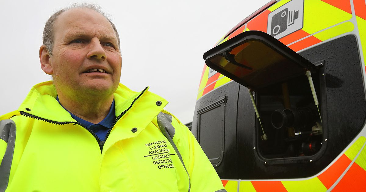 Speed camera van man tells all on the law and enforcement