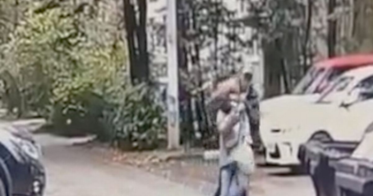 Terrifying moment man grabs girl, 9, by throat and whispers: 'Do you want to live'