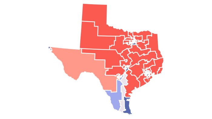 Texas's New Congressional Map Could Give A Huge Boost To GOP Incumbents