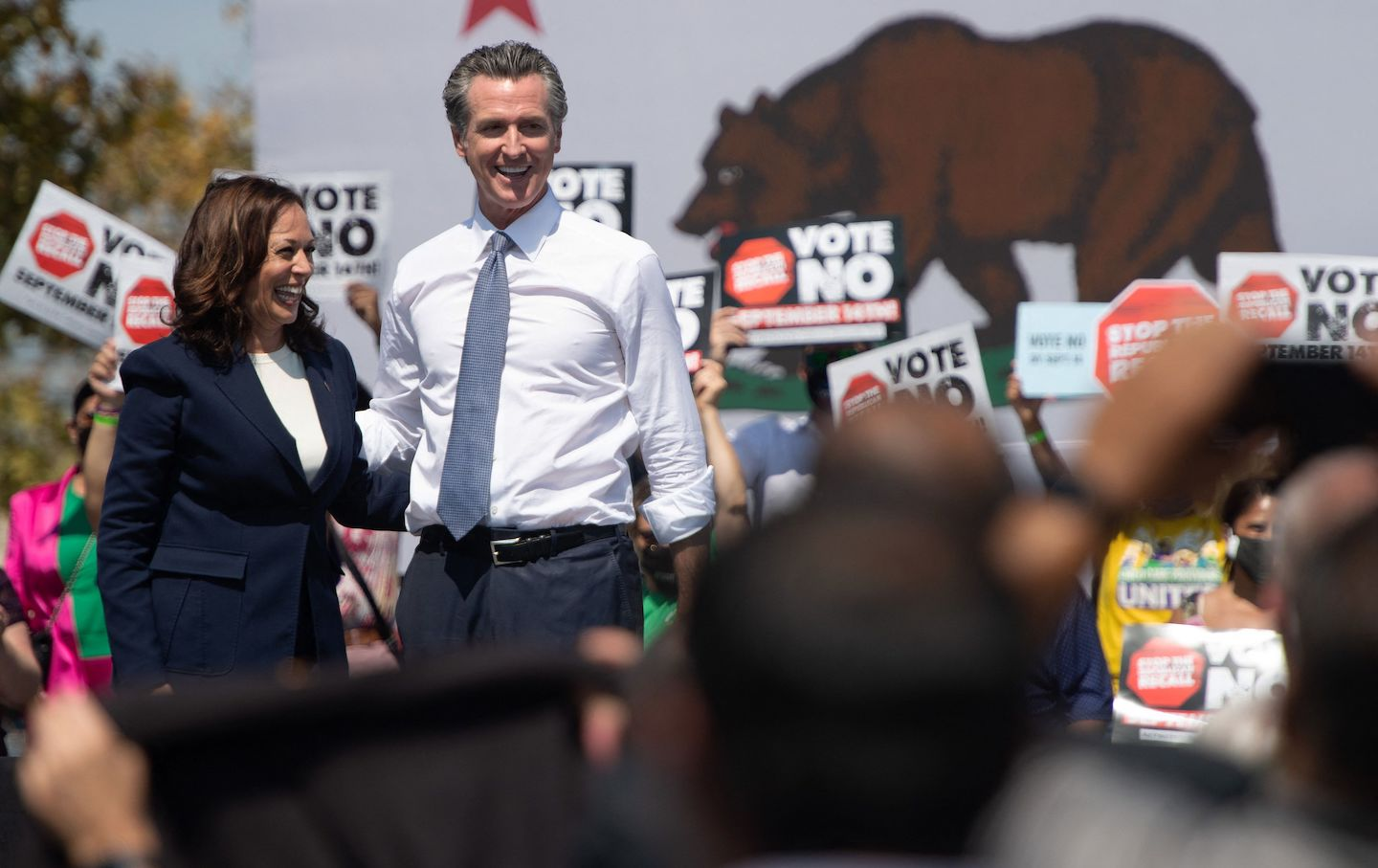 The California Recall Election Is Up for Grabs