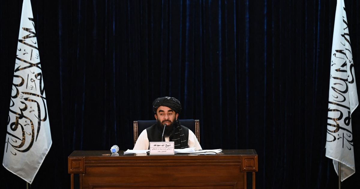 The Taliban's new government includes a designated terrorist. Here's what else to know.