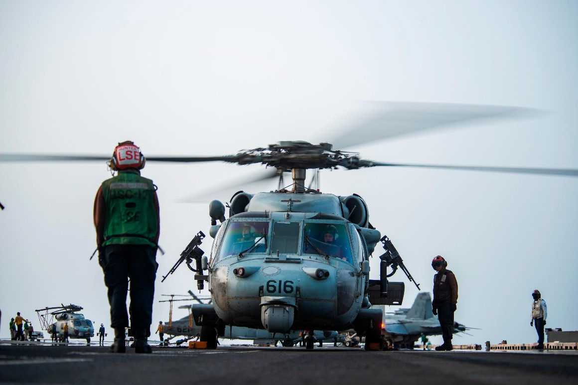 The U.S. ground war in Afghanistan is over. Now it's the Navy's turn.