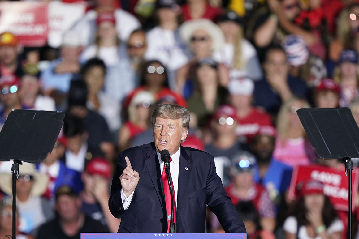 Trump builds 'turnkey' campaign operation for 2024