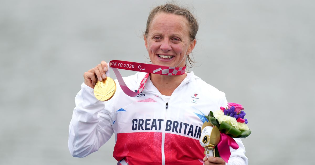 Wiggs takes Paralympic gold with personal best time