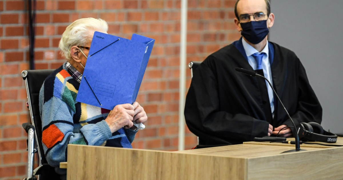 100-year-old ex-Nazi death camp guard goes on trial in Germany