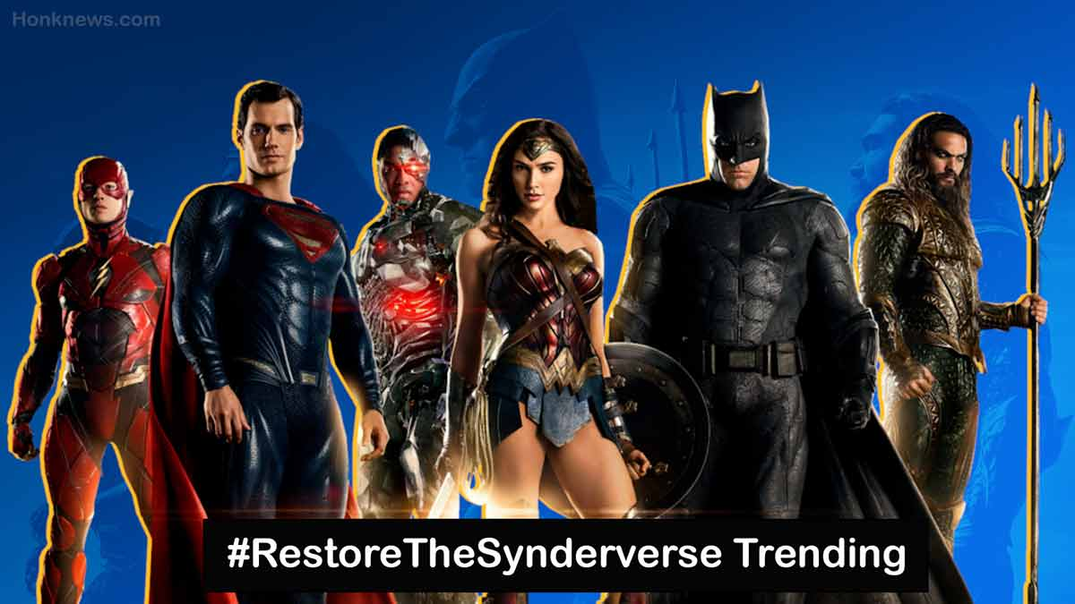 Know Why #RestoreTheSynderverse Trending On Twitter? What is Synder Cut?