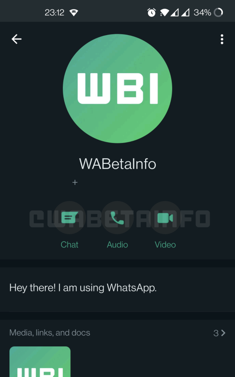 Interface change from WhatsApp: Here is the new design! 1