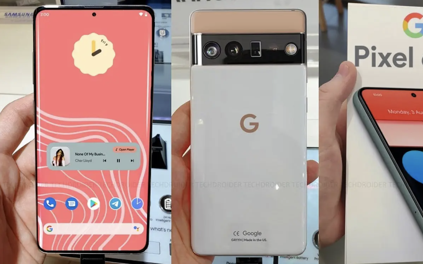 Update News For The Google Pixel 6 Family 1