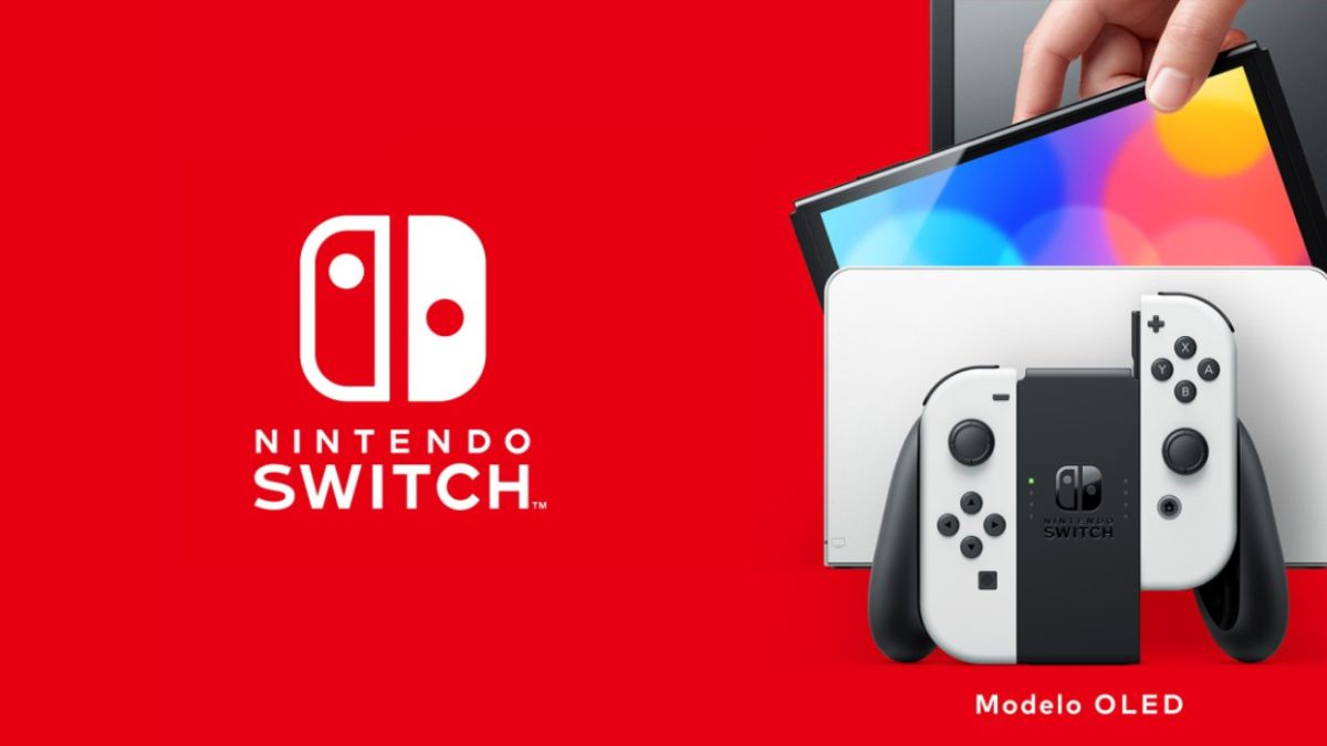 Nintendo Switch OLED: The Screen Includes An Adhesive Protector That You Should Not Remove
