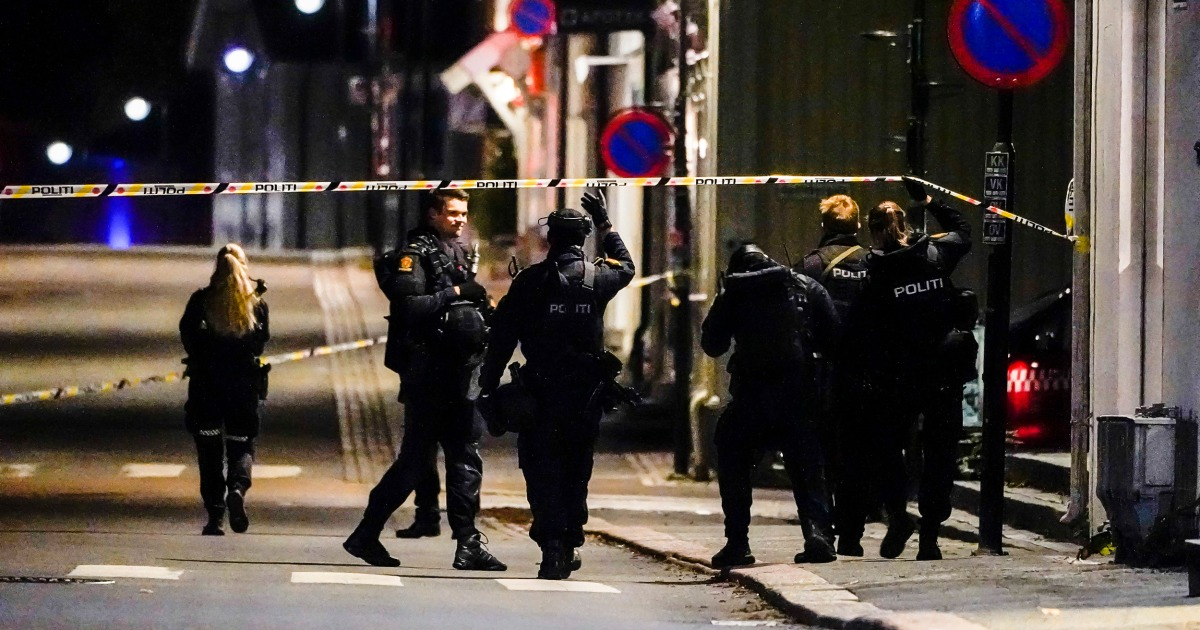 5 people killed in Norway bow and arrow attacks, police say
