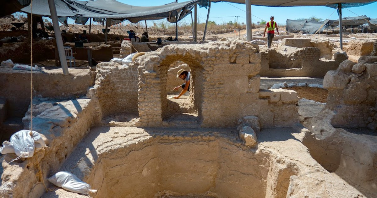 Ancient winery capable of making half-a-million gallons of wine a year discovered in Israel