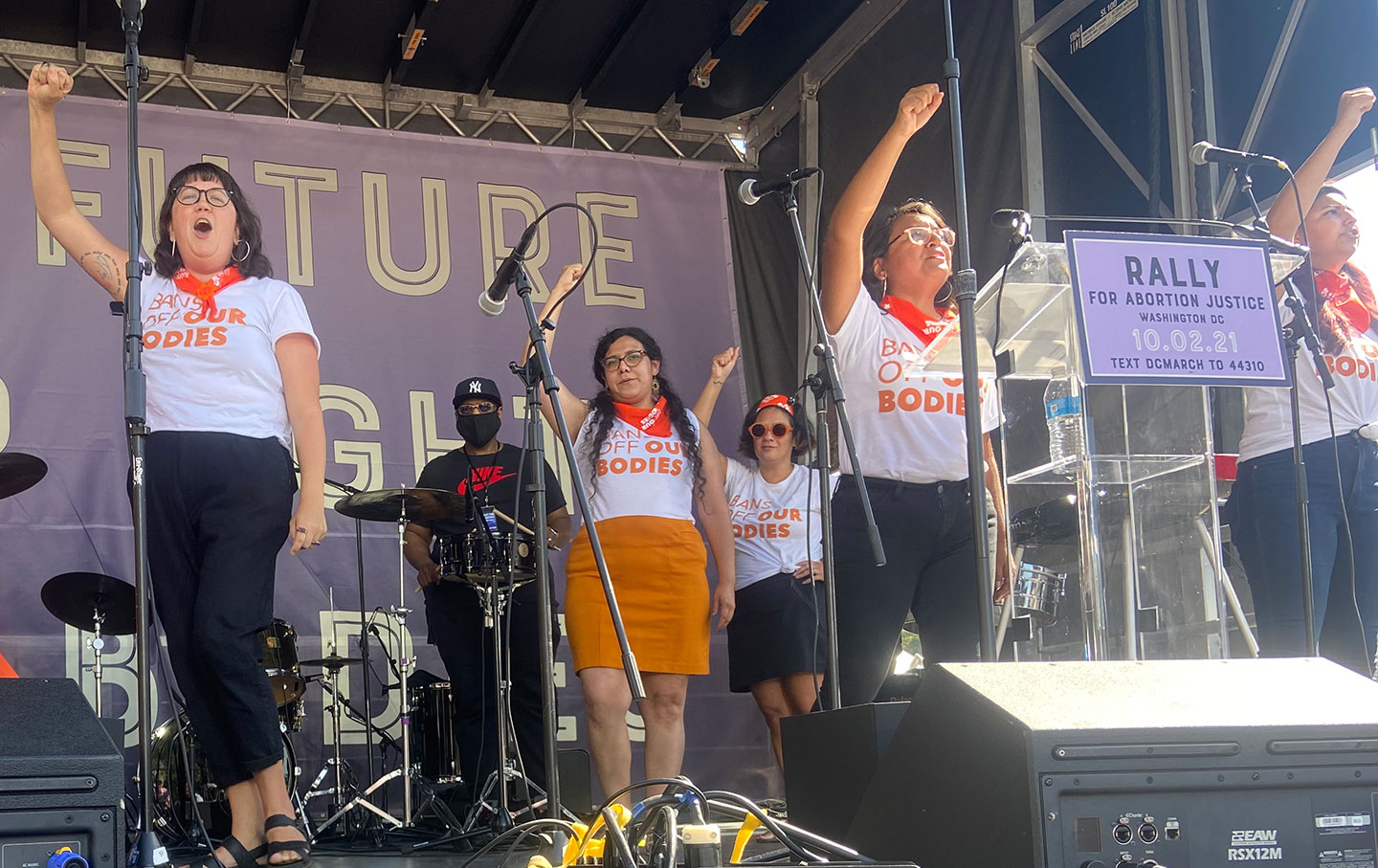 At the March for Abortion Rights, a New Generation of Activists Takes Center Stage