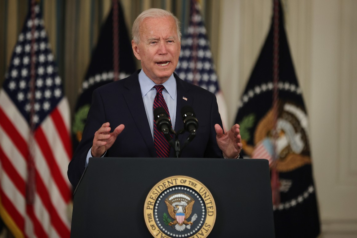 Biden broaches nuclear option in standoff with McConnell