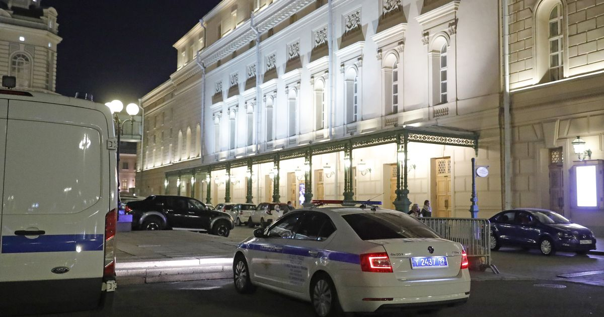 Actor Yevgeny Kulesh, 37, was killed at the Bolshoi Theatre after being hit by piece of the scenery