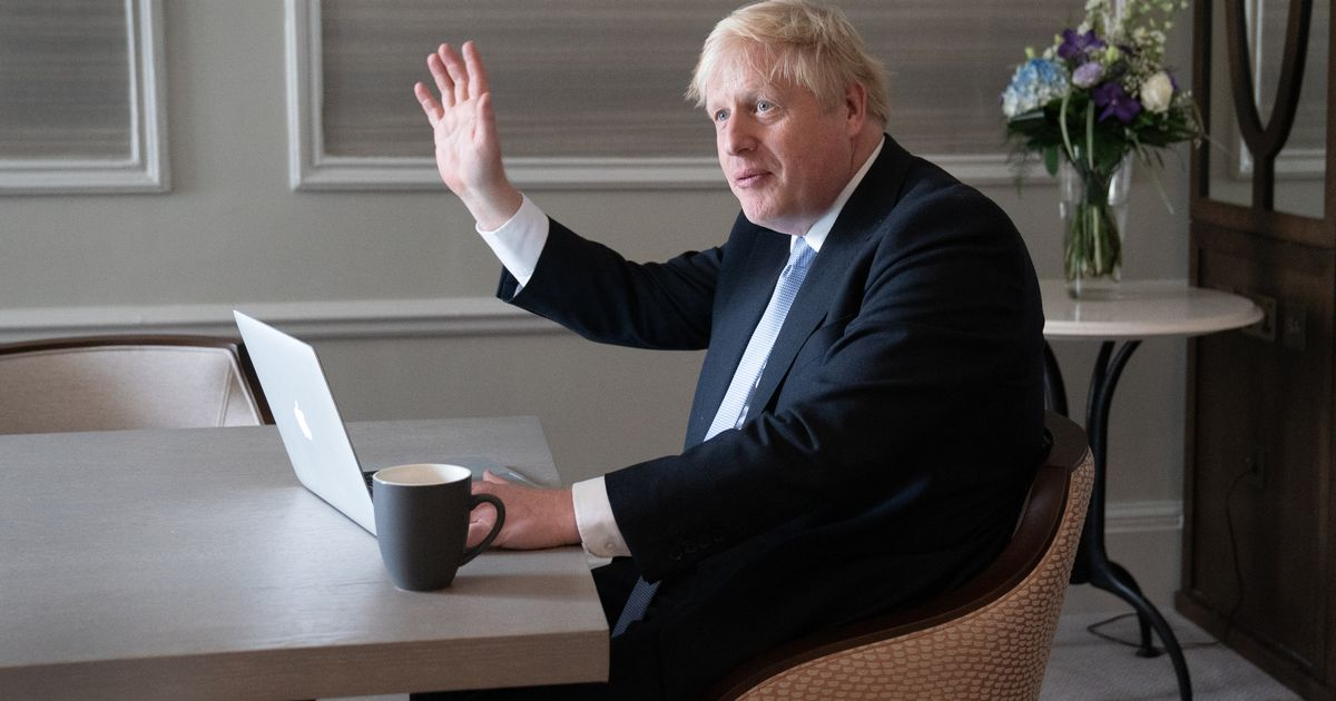 Boris Johnson rules out return of mass immigration in conference speech promising higher wages