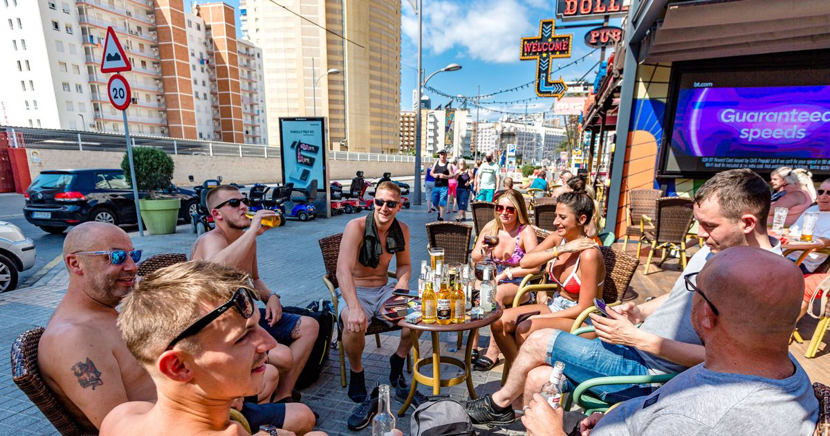 Brits are heading back to Benidorm after the easing of Covid travel restrictions