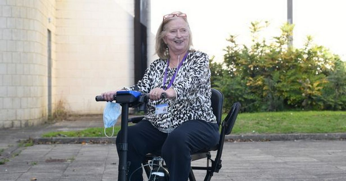 Cancer patient Annie is living life to the full