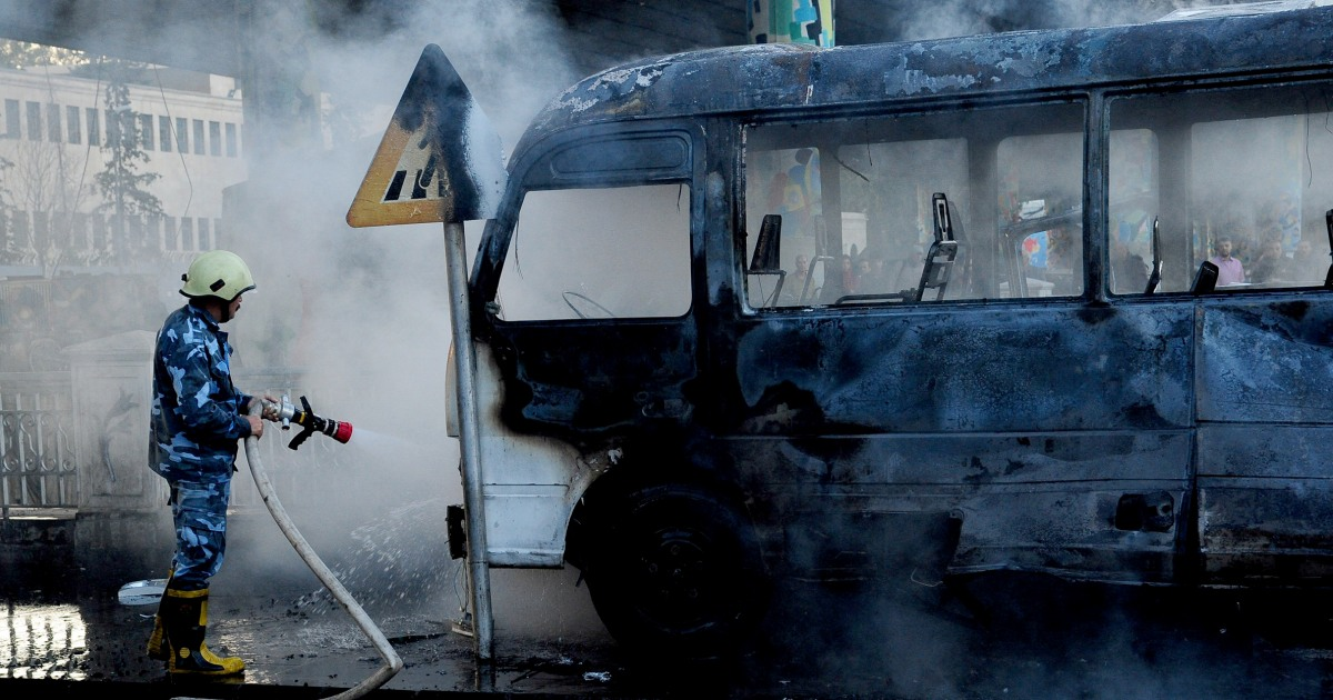 Deadliest attack in Syrian capital in years kills 14