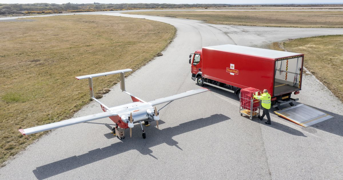 Do Royal Mail use drones? Do they deliver near me?