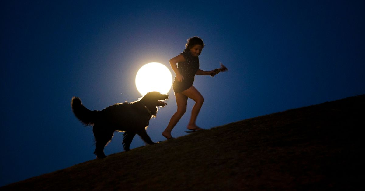 Earth will be under threat as the Moon makes a slow exit
