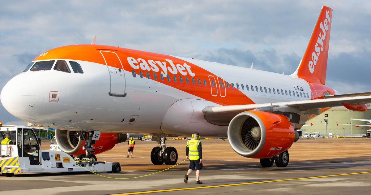 Easyjet issues alert after refusing to let couple fly due to 'illogical and unfair' Covid rule