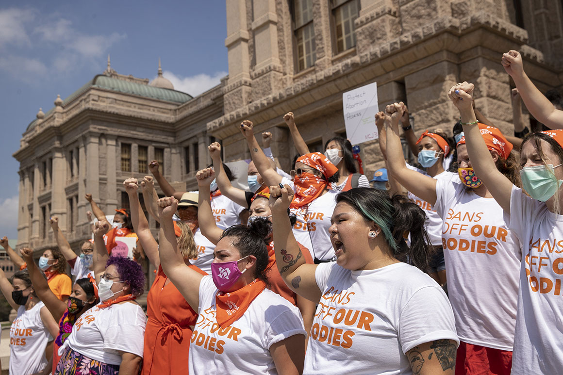 Feds, Texas square off in court over novel abortion law
