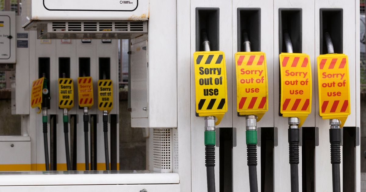 Fuel warning as supplies 'sent to wrong parts of country' as shortages continue