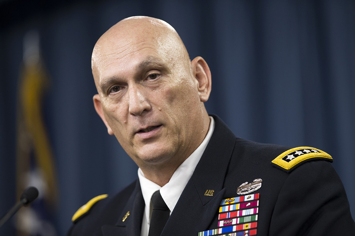 Gen. Odierno fondly remembered as 'a giant'