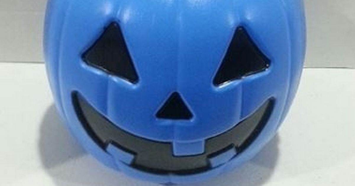 Trick-or-treat evening is nearly upon us and some tricksters may be using blue candy buckets instead of the usual orange
