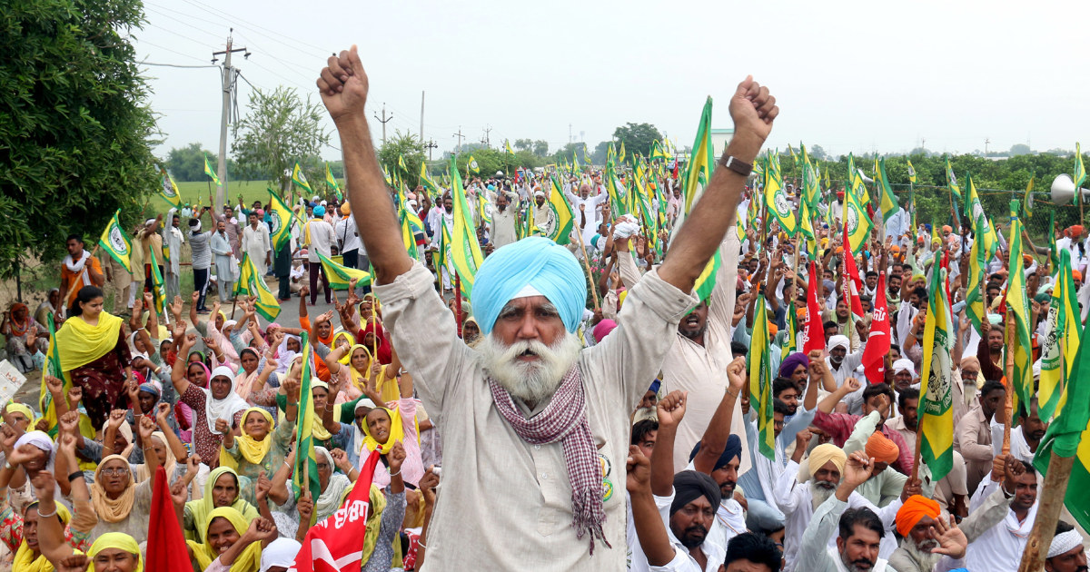 Indian farmers' movement back in spotlight after deadly protest incident
