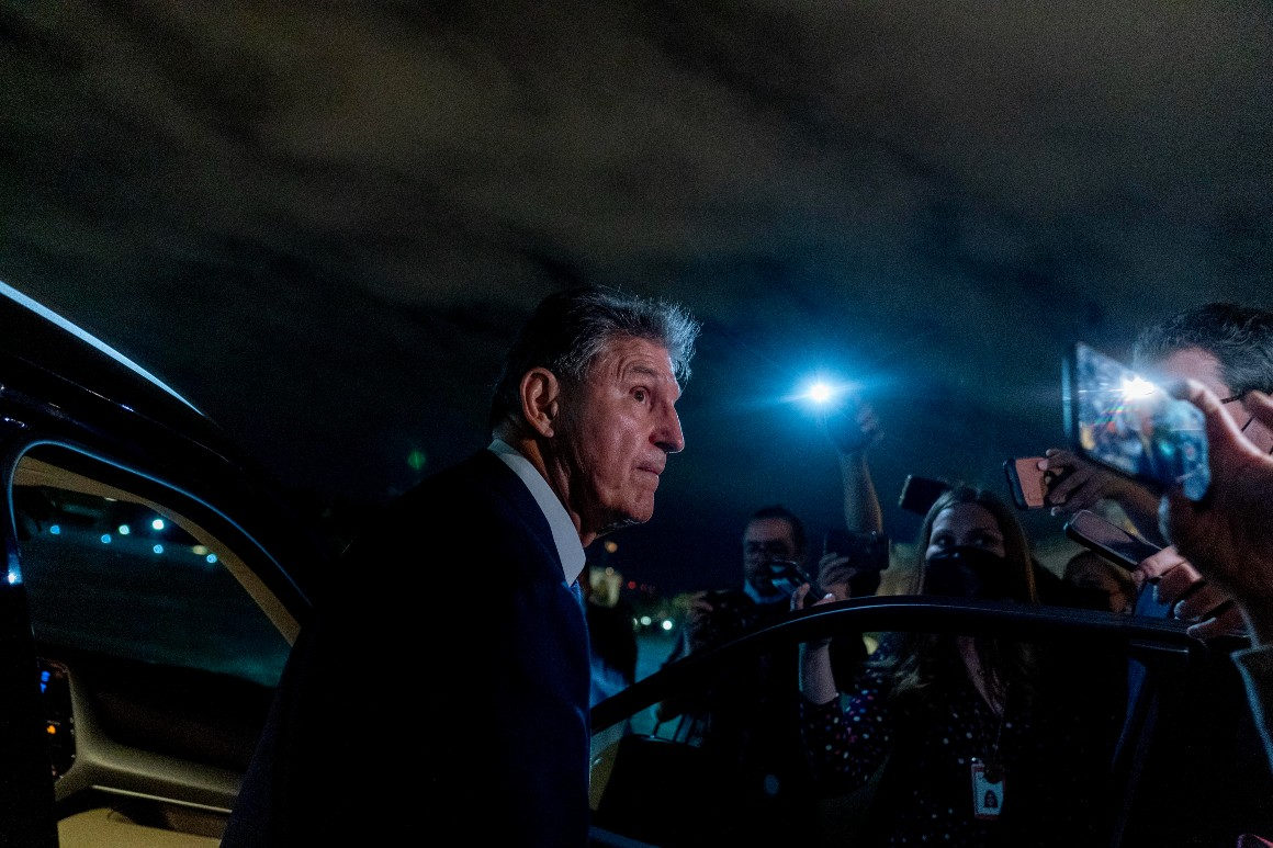 Inside Manchin's search for GOP votes on elections reform