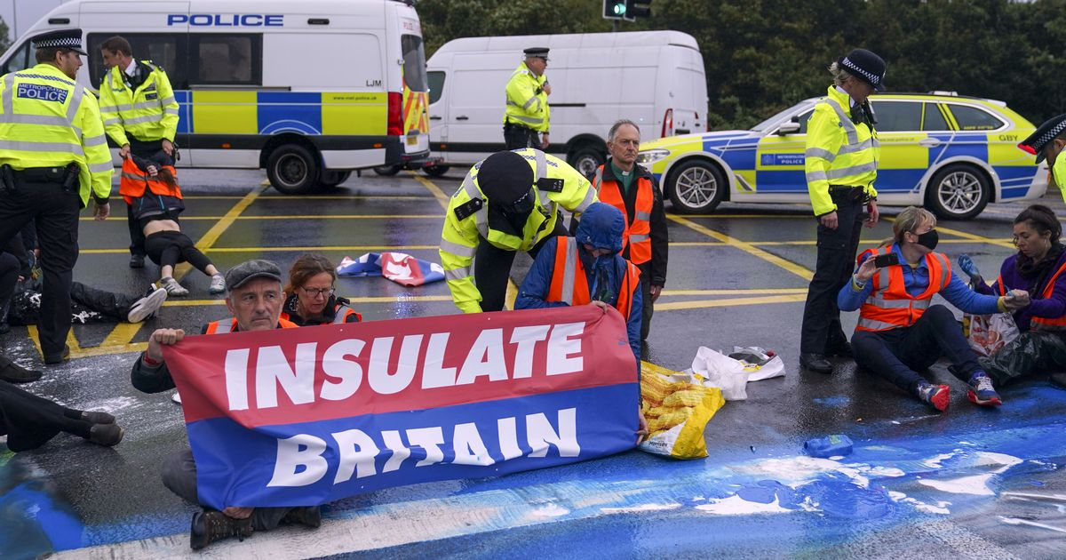 Insulate Britain protesters to be tackled by new Government powers