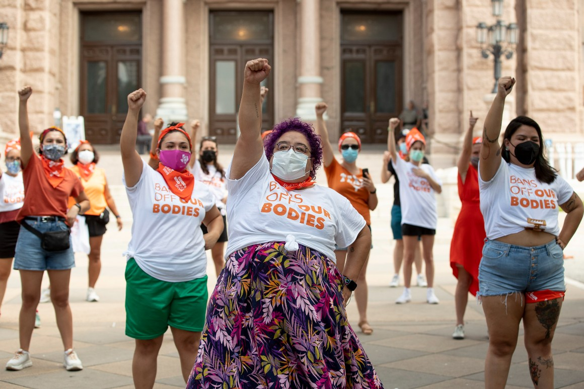 Justice Department to ask Supreme Court to block Texas abortion ban